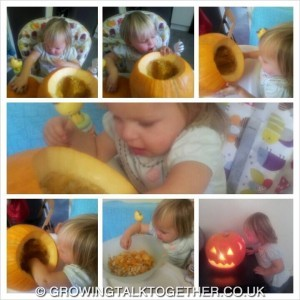 B pumpkin play